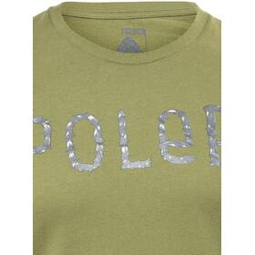 POLER Furry Font - T-shirt manches courtes Homme - olive
